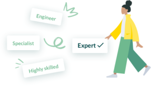 Work with prescreened hardware engineers to solve your engineering problems