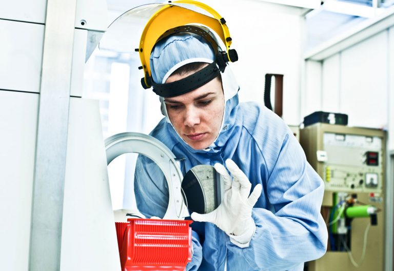 Design ceramic heavy load bearing application for cleanroom environment