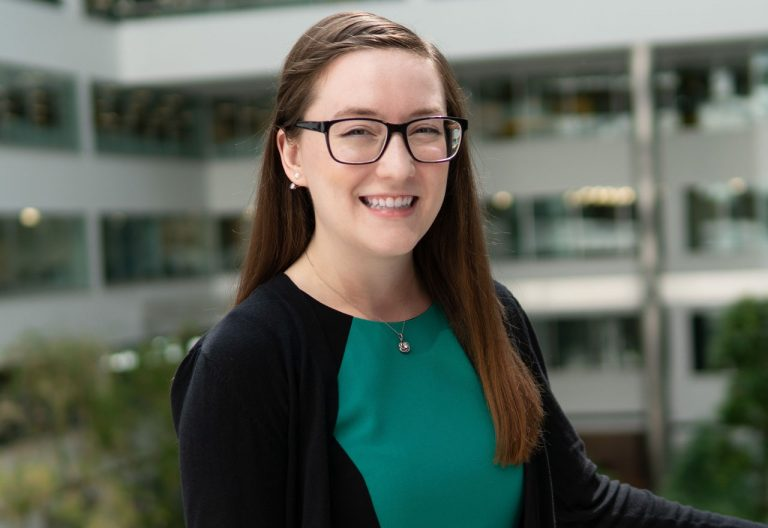 Female civil engineer and STEM advocate Dani Schroeder